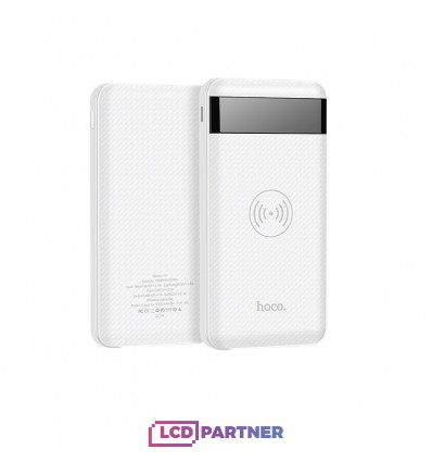 hoco. J11 wireless powerbank 10000mAh white