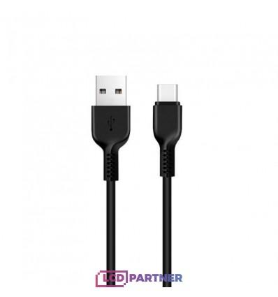 hoco. X20 charging cable type-c 3m black
