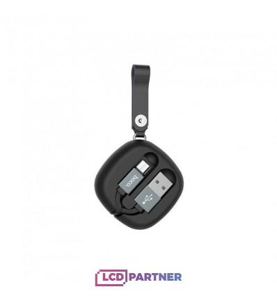 hoco. U33 charging cable microUSB black