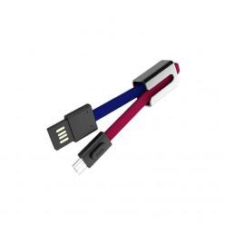 hoco. U36 nabíjací kábel microUSB červená