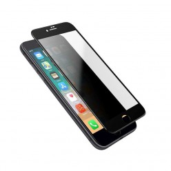 hoco. Apple iPhone 7, 8 anti-spy temperované sklo černá