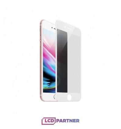 hoco. Apple iPhone 7, 8 anti-spy tempered glass white