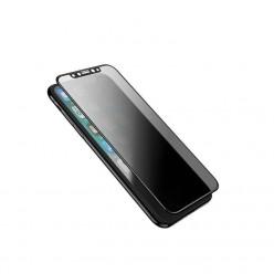 hoco. Apple iPhone X anti-spy temperované sklo černá