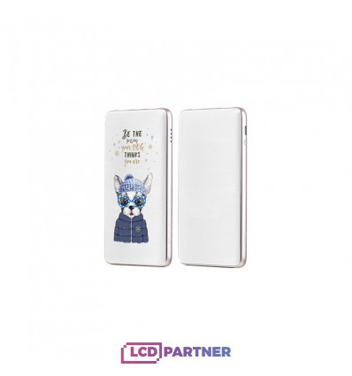 hoco. J13 powerbank 10000mAh type 1 white