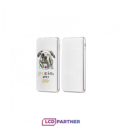 hoco. J13 powerbank 10000mAh type 2 white