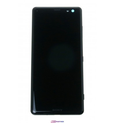 Sony Xperia XZ3 LCD + touch screen + front panel black - original