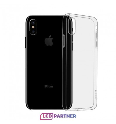 hoco. Apple iPhone X, Xs Transparent cover gray