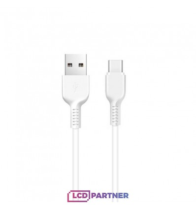 hoco. X20 charging cable microUSB 2m white
