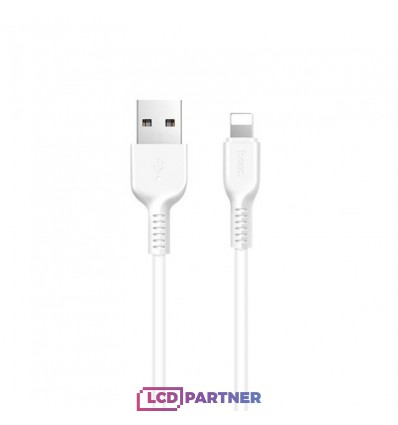 hoco. X20 charging cable lightning 2m white