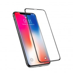 hoco. Apple iPhone Xr, 11 A12 tempered glass black