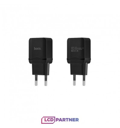 hoco. C22A USB charger black