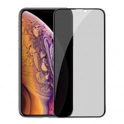hoco. Apple iPhone Xs Max, 11 Pro Max Anti-spy temperované sklo čierna