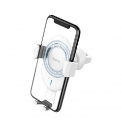 hoco. CW17 car holder + wireless charger white
