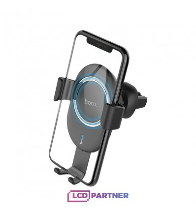 hoco. CW17 car holder + wireless charger black