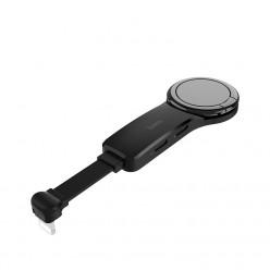 hoco. LS23 dual lighting digital konvertor čierna