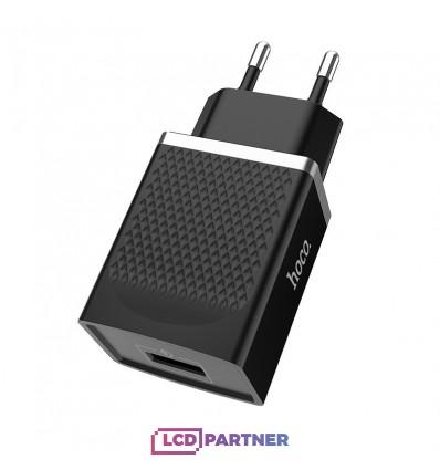 hoco. C42A USB rýchlonabíjačka quick charge 3.0 18W čierna