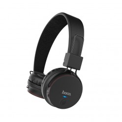 hoco. W19 wireless headphone black
