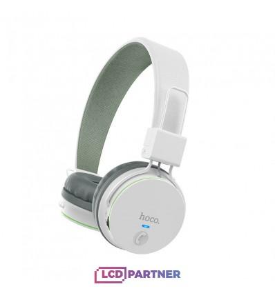 hoco. W19 wireless headphone white