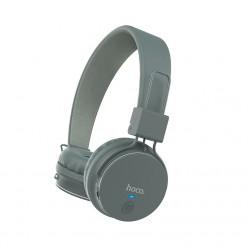 hoco. W19 wireless headphone gray