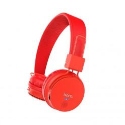 hoco. W19 bezdrátové sluchátka červená