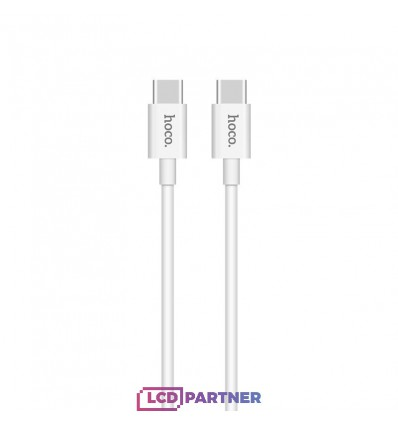 hoco. X23 cable type-c to type-c 3A 1m white