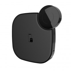 hoco. S5 wireless charger for mobile device and Applewatch black