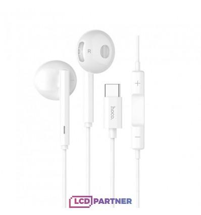 hoco. L10 type-c earphone white