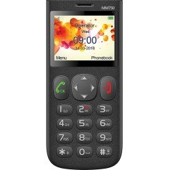 Maxcom Comfort MM750 černá - originál – vrátené do 14 dní