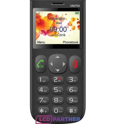 Maxcom Comfort MM750 čierna - originál – vrátené do 14 dní