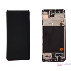 Samsung Galaxy A51 SM-A515F LCD + touch screen + front panel black - original