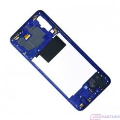 Samsung Galaxy A70 SM-A705FN Rám stredový modrá - originál