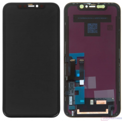 Apple iPhone 11 LCD displej + dotyková plocha čierna - premium