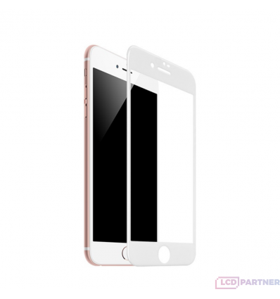 hoco. Apple iPhone 7 Plus, 8 Plus Flash attach HD ochranné sklo biela