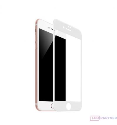 hoco. Apple iPhone 7 Plus, 8 Plus Flash attach HD tempered glass white