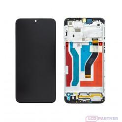 Samsung Galaxy A10s SM-A107F LCD displej + dotyková plocha + rám čierna - originál