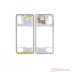 Samsung Galaxy A71 SM-A715F Rám stredový biela - originál