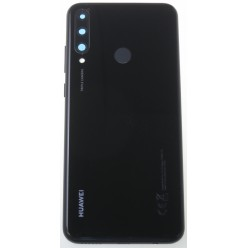 Huawei Y6p (MED-LX9, MED-LX9N) Battery cover black - original