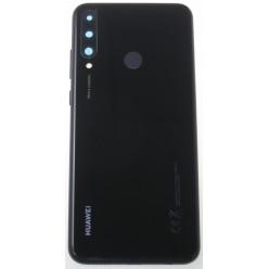 Huawei Y6p (MED-LX9, MED-LX9N) Kryt zadný čierna - originál