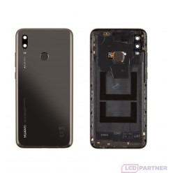 Huawei P Smart 2019 (POT-LX1) Back cover + fingerprint reader black - original