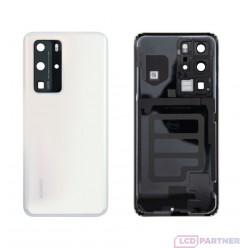 Huawei P40 Pro (ELS-N04, ELS-NX9) Kryt zadní bílá - originál