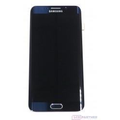 Samsung Galaxy S6 Edge+ G928F - LCD displej + dotyková plocha + rám čierna - originál