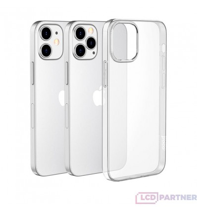 hoco. Apple iPhone 12, 12 Pro Cover light series clear