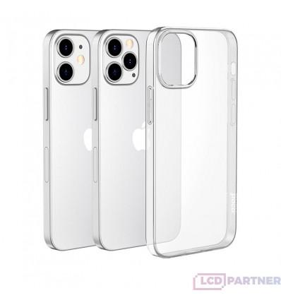 hoco. Apple iPhone 12, 12 Pro Puzdro light series priesvitná