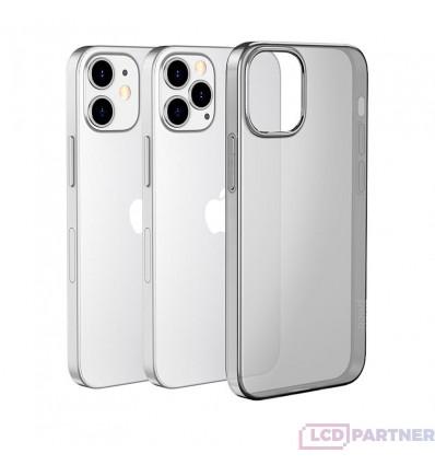 hoco. Apple iPhone 12, 12 Pro Cover light series black