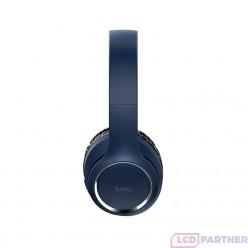 hoco. W28 wireless headphone blue