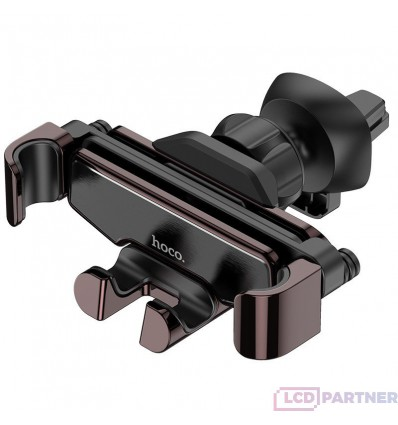 hoco. S25 air outlet mobile phone holder black