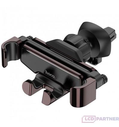 hoco. S25 držiak mobilných zariadení do ventilácie auta čierna