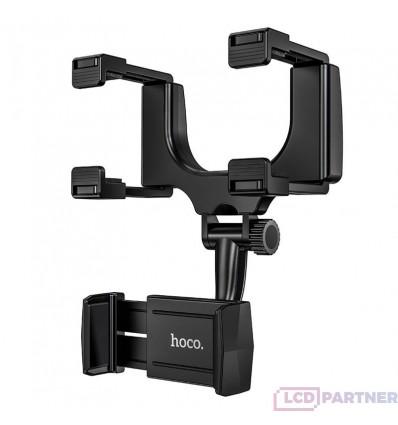 hoco. CA70 držiak mobilných zariadení na spätné zrkadlo čierna