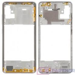 Samsung Galaxy A51 SM-A515F Rám stredový biela - originál