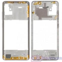 Samsung Galaxy A51 SM-A515F Middle frame white - original